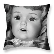 Doll 32 Throw Pillow