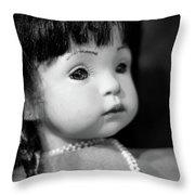 Doll 56 Throw Pillow