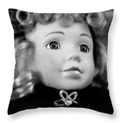 Doll 57 Throw Pillow