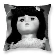 Doll 63 Throw Pillow