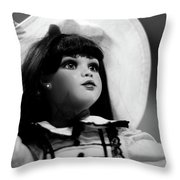 Doll 64 Throw Pillow