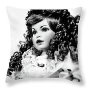 Doll 66 Throw Pillow