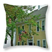 Doll House Throw Pillow