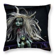 Doll X1 Throw Pillow
