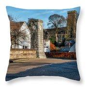 Dollar Town In Scotland Throw Pillow