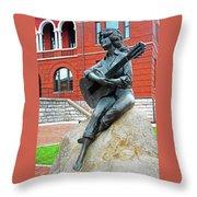 Dolly Pardon Statue 1 Throw Pillow