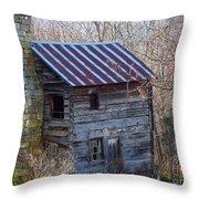 Dolly's Hearth - Pendleton County West Virginia Throw Pillow