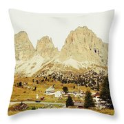 Dolomites, Italy Throw Pillow