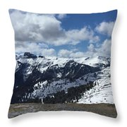 Dolomites Throw Pillow