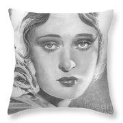 Dolores Costello Throw Pillow
