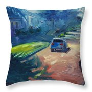 Dolores Street Throw Pillow