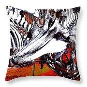 Dolphin Always Smile Throw Pillow