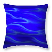Dolphin Waves Throw Pillow