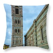 Dom Of Florence Throw Pillow