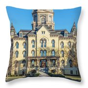 Dome At University Of Notre Dame  Throw Pillow