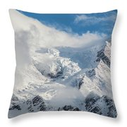 Dome Du Gouter In The Clouds Throw Pillow