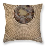 Dome In Capitol Building Throw Pillow
