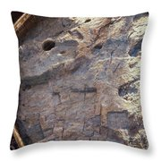 Dome Of The Rock: Moriah Throw Pillow