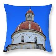Dome On A Church Throw Pillow