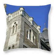 Dome On Sainte Catherine 1 Throw Pillow