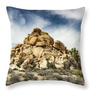 Dome Rock - Joshua Tree National Park Throw Pillow