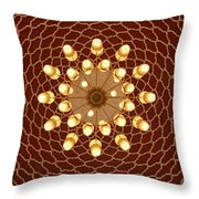 Domed Roof Mandala Throw Pillow