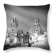 Domes Throw Pillow by Stefano Senise