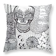 Domestic Violence Class Throw Pillow