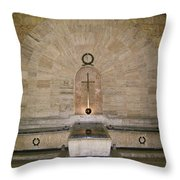 Dominican Republic Shrine Throw Pillow
