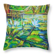 Dominicana Throw Pillow