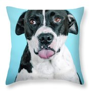 Domino 5 Throw Pillow
