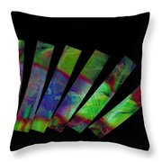 Domino Effect Throw Pillow
