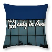 Don King Only In America Throw Pillow