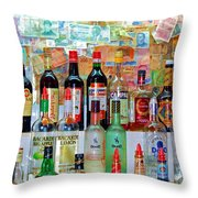 Don Q Throw Pillow