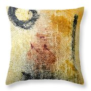 Don Quixote - Dc Boutwell Throw Pillow
