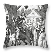 Don Quixote And Sancho Panza By William Throw Pillow