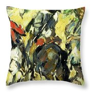 Don Quixote, View From The Back Throw Pillow