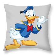 Donald Duck Throw Pillow
