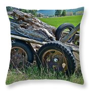 Done Working Throw Pillow