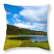 Donegal Landscape Throw Pillow