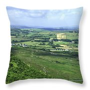 Donegal Patchwork Farmland Throw Pillow
