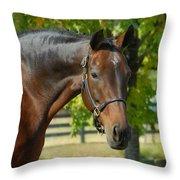 Donna Gina Throw Pillow
