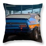 Donovan Ford Throw Pillow
