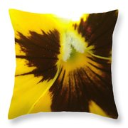 Don't Be A Pansy Throw Pillow