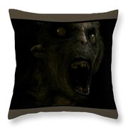 Don't Be Afraid Of The Dark Throw Pillow