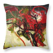 Don't Bother Me Throw Pillow