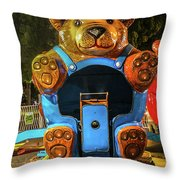 Don't Feed The Bears Throw Pillow