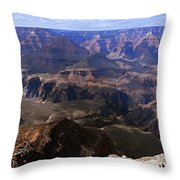 Don't Get Too Close To The Edge Throw Pillow