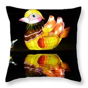 Don't Go In The Water Throw Pillow