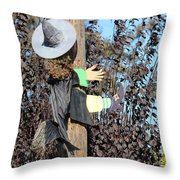 Dont Hex And Fly Throw Pillow